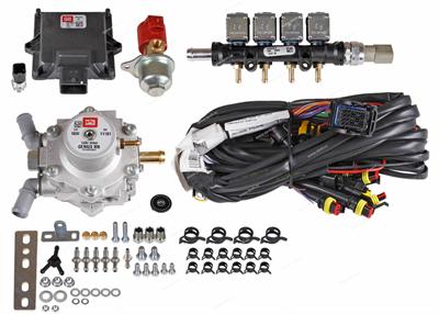 Комплект BRC Sequent 32/1 ALBA  (до 160 л.с.) + баллон 60 л ( цилиндр. ) - фото 4919