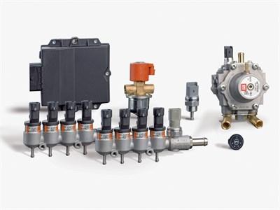 Комплект BRC PLUG&DRIVE  8 цил. ( до 330 л.с.) + баллон 80 л (цилиндр) - фото 4987
