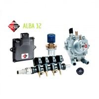 Комплект BRC Sequent 32/1 ALBA  (до 160 л.с.) + 2 баллона по 35 л (цилиндр)