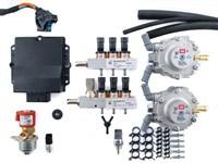 Комплект BRC PLUG&DRIVE  6 цил. (от 190 до 240 л.с.) + баллон 60 л (цилиндр)