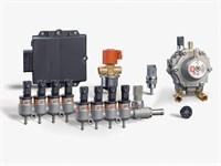 Комплект BRC PLUG&DRIVE  8 цил. ( до 330 л.с.) + баллон 74 л (в запаску)
