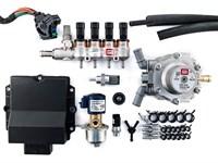 Комплект BRC MAX  (до 160 л.с.) + баллон 80 л ( цилиндр. )
