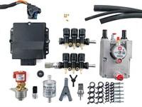 Комплект BRC PLUG&DRIVE 6 цил. (от 190 до 240 л.с.) + баллон 50 л (в запаску)